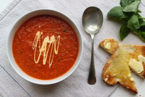 Tomato soup for a drizzly day